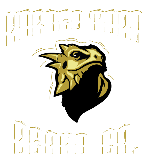 Horned Toad Beard Co. Beard Balm and Beard Oil Lubbock Tx. Retina Logo