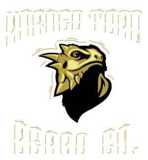 Horned Toad Beard Co. Beard Balm and Beard Oil Lubbock Tx. Logo