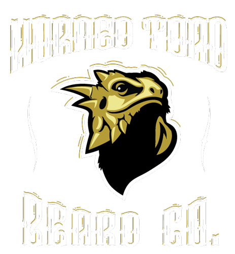 Horned Toad Beard Co. Beard Balm and Beard Oil Lubbock Tx. Mobile Retina Logo